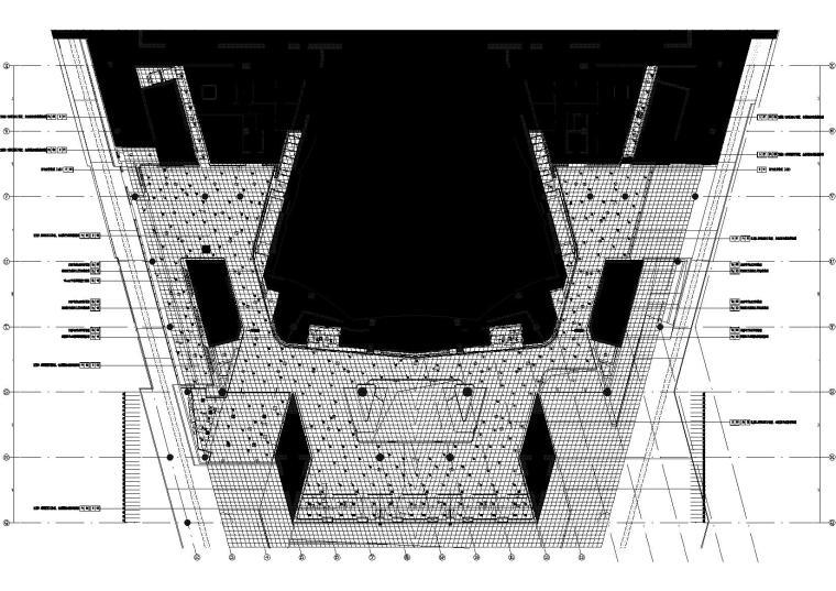 1区(歌剧院)门厅4.500标高平顶图