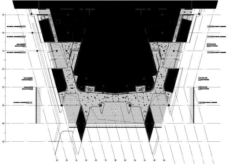 1区(歌剧院)门厅9.000标高平顶图