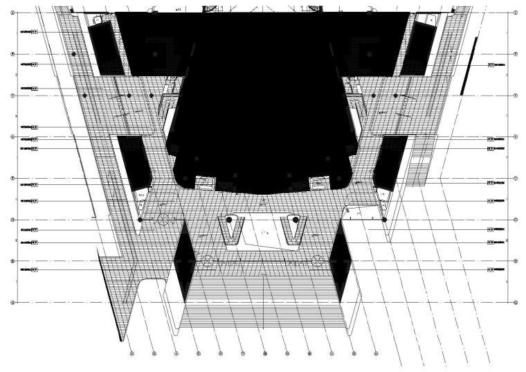1区(歌剧院)门厅9.000标高地坪图