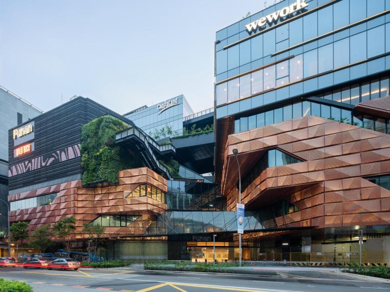新加坡Funan商業綜合體