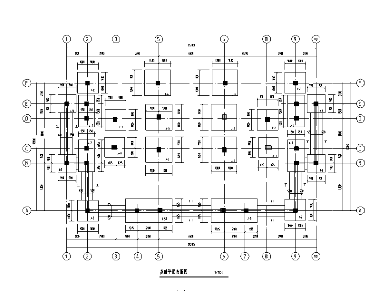 三层框架结构别墅结构施工图(2013年9月出图)
