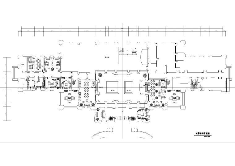 [武汉]中建.汤逊湖一号售楼处施工图+效果图
