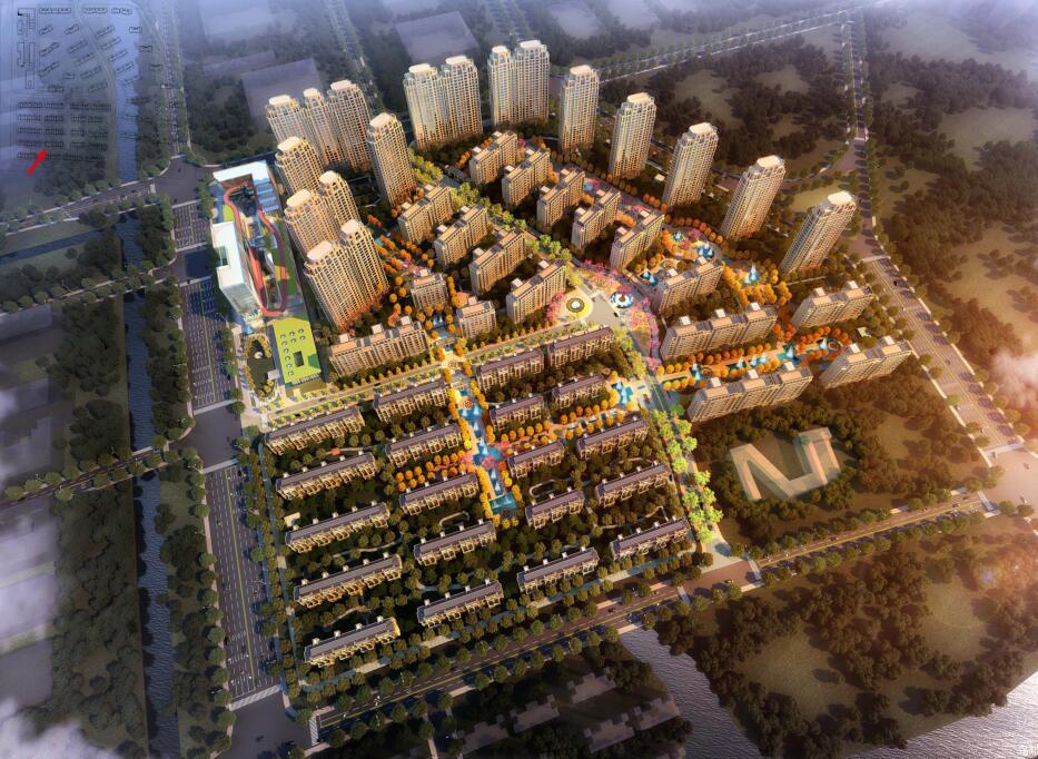 [江苏]金茂苏州苏地科技城古典风格居住区概念规划文本(日清设计|PDF+256页)