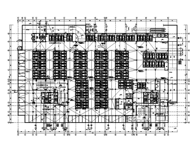 宁夏二十一层办公楼给排水设计施工图