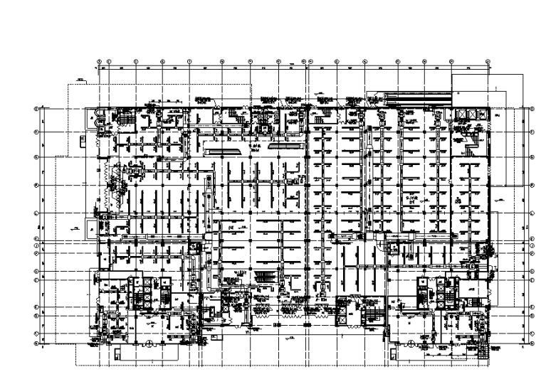 宁夏二十一层广场暖通设计施工图