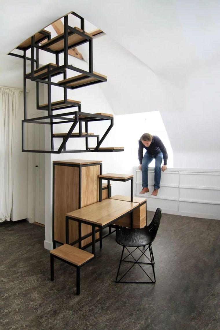 """有""""腔调""""的28个楼梯案例设计分享(文末33套室内施工图资料)_7"""