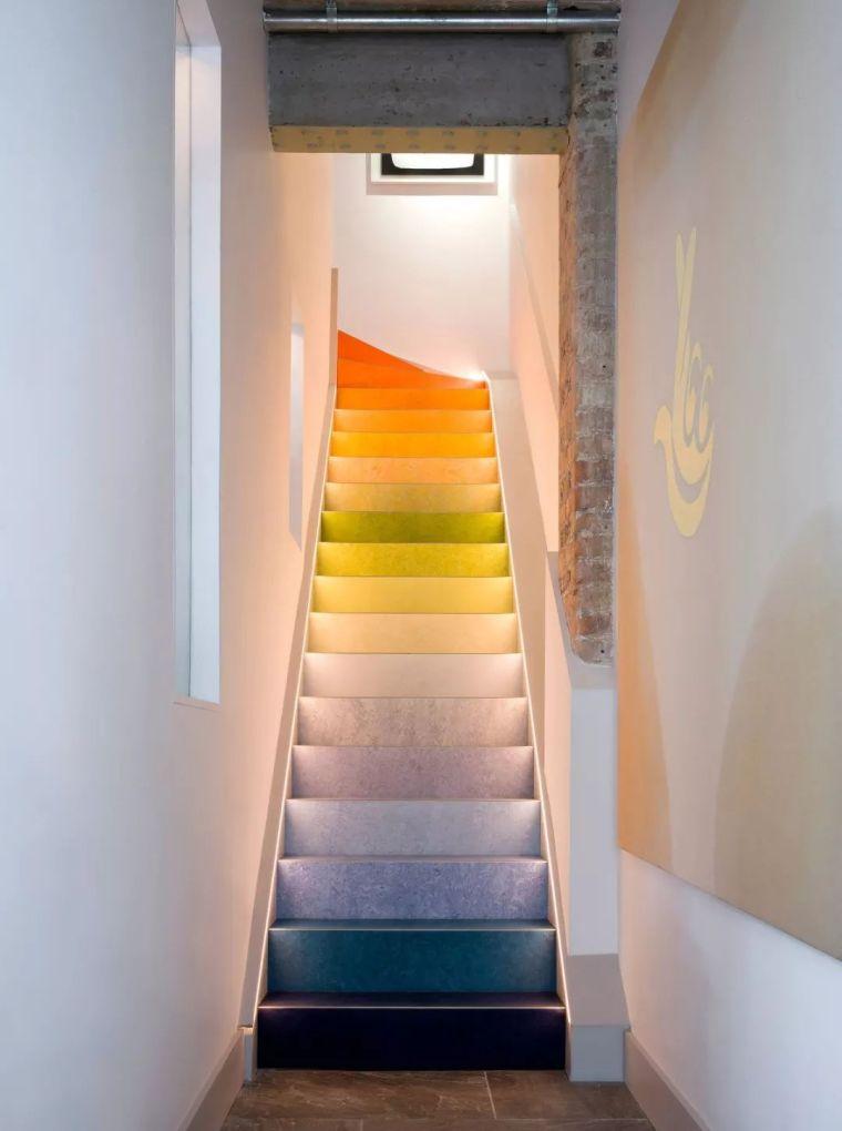 """有""""腔调""""的28个楼梯案例设计分享(文末33套室内施工图资料)_35"""