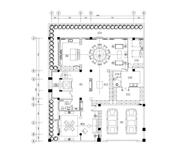 麓府别墅四合院+样板间+售楼处丨cad平面+设计方案+效果图+max模型图片