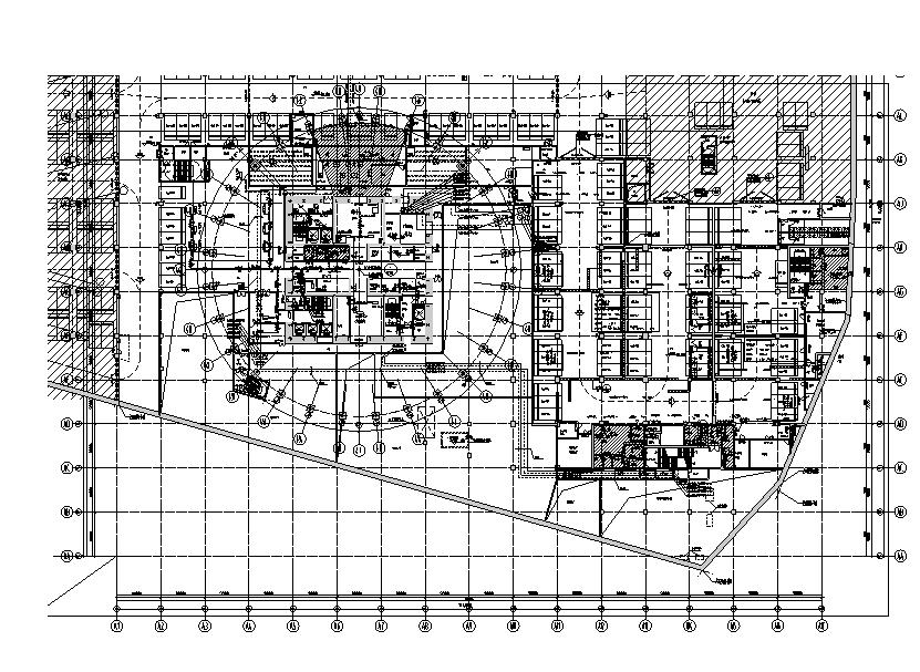 深圳66层华润大厦全套暖通施工图(DWG+PDF)