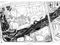[上海]南站绿轴项目景观CAD施工图(附公园方案文本&su模型)