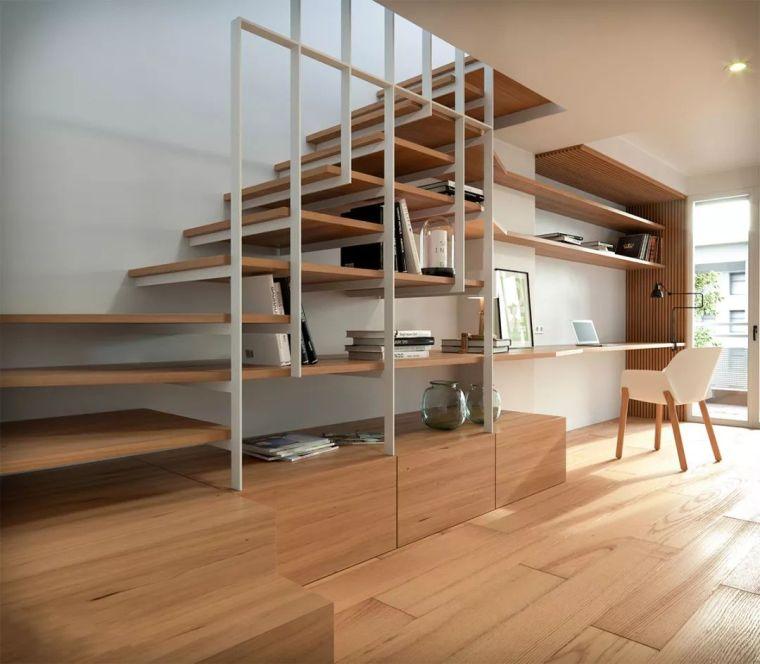 """有""""腔调""""的28个楼梯案例设计分享(文末33套室内施工图资料)_12"""