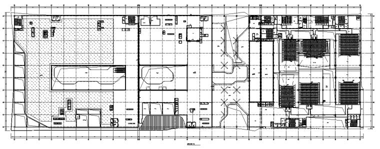 北京居住区改造项目配套商业电气施工图