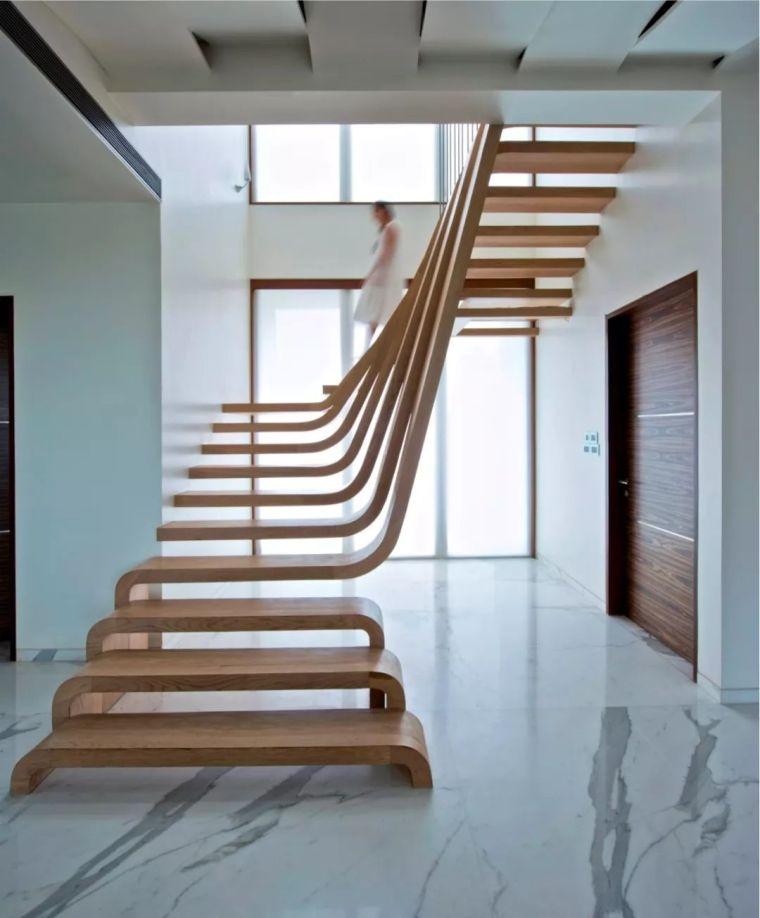 """有""""腔调""""的28个楼梯案例设计分享(文末33套室内施工图资料)_14"""