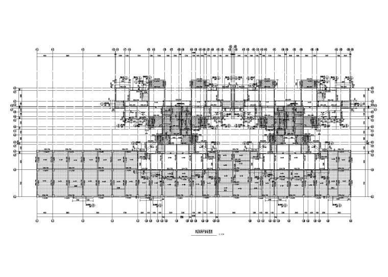 [四川]24层剪力墙结构住宅楼建筑结构施工图(2017)