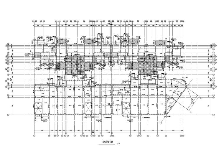 78.8m剪力墙结构住宅楼建筑结构施工图2017