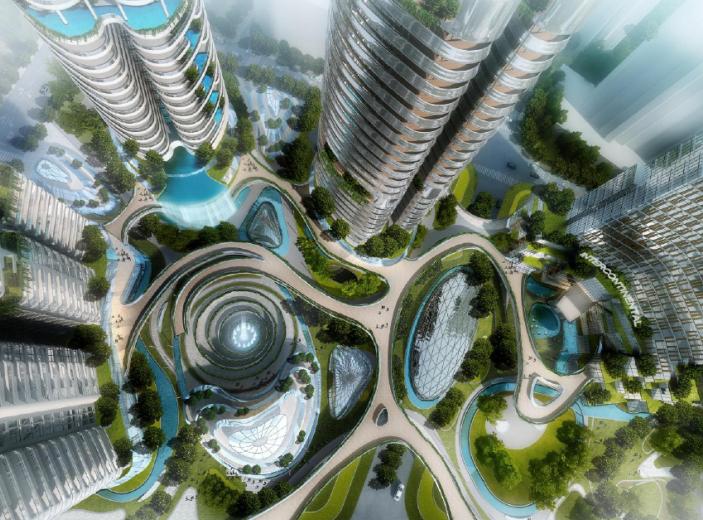 [四川]成都东大街D10项目建筑方案设计文本(PDF,182页)