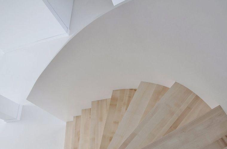 """有""""腔调""""的28个楼梯案例设计分享(文末33套室内施工图资料)_18"""