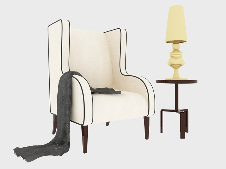 时尚沙发3D模型下载