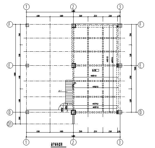 [武汉]厂房新增架空阁楼结构施工图