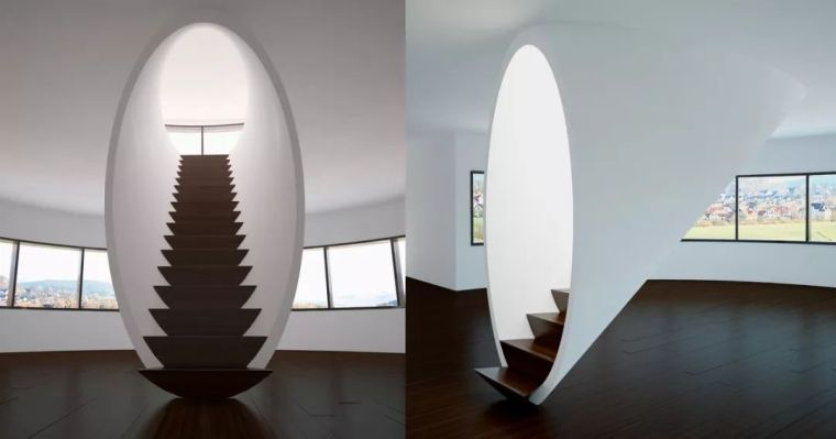 """有""""腔调""""的28个楼梯案例设计分享(文末33套室内施工图资料)_20"""
