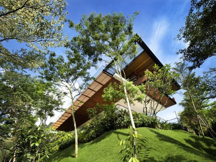 新加坡山水之间的植苑别墅
