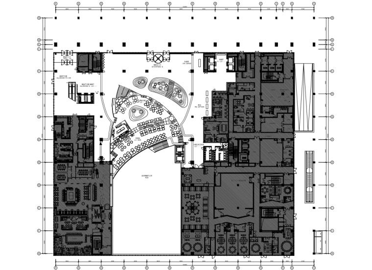 [北京]隈研吾-北京凯悦酒店室内装修施工图+方案+效果图+物料书