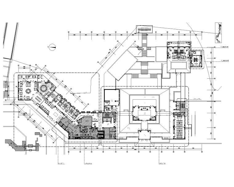 [贵州]万达设计院-丹寨万达锦华温泉酒店室内装修施工图+效果图+物料表+摄影(附机电图、灯光图)