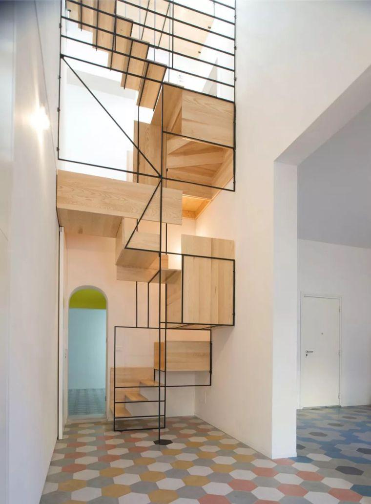 """有""""腔调""""的28个楼梯案例设计分享(文末33套室内施工图资料)_3"""