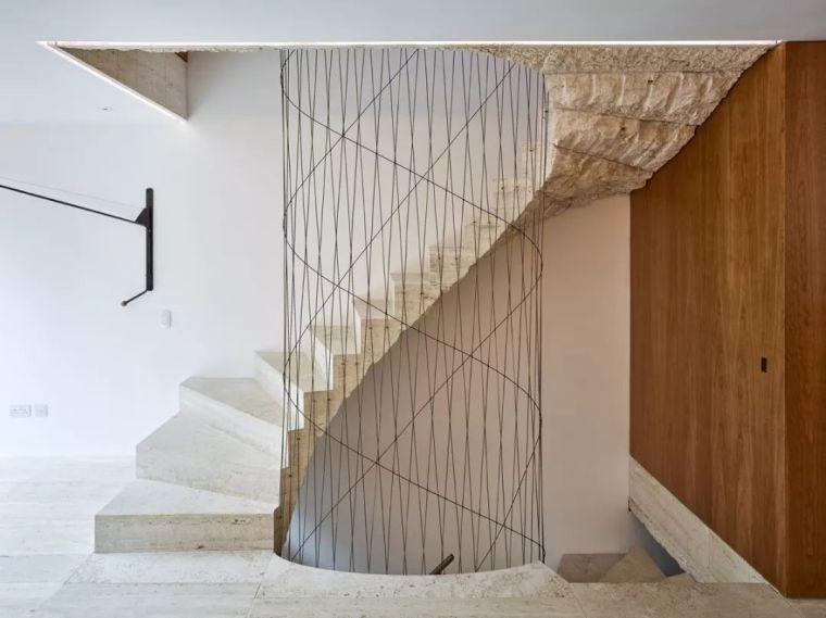 """有""""腔调""""的28个楼梯案例设计分享(文末33套室内施工图资料)_4"""