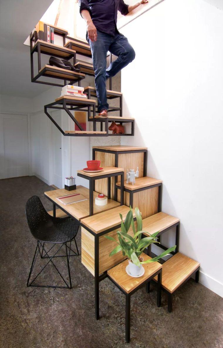 """有""""腔调""""的28个楼梯案例设计分享(文末33套室内施工图资料)_6"""
