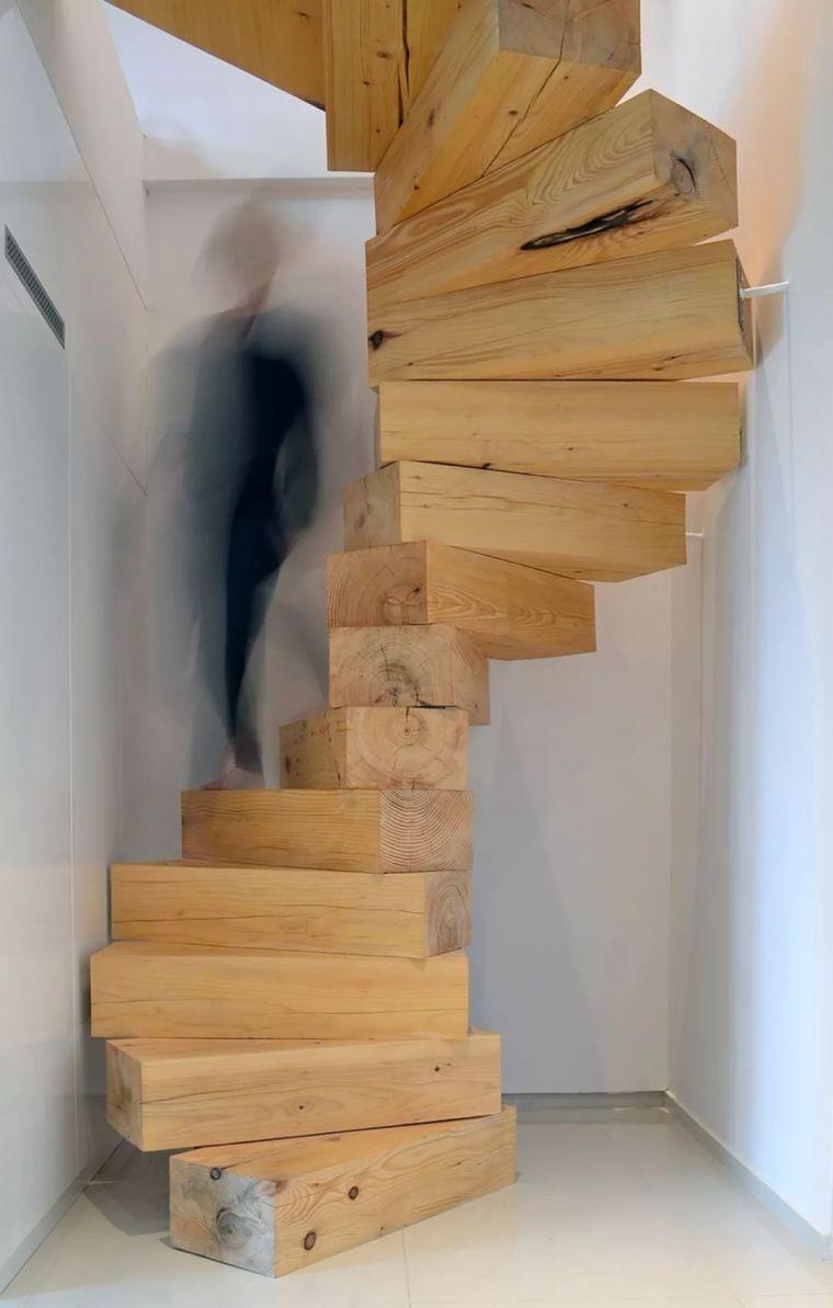 """有""""腔调""""的28个楼梯案例设计分享(文末33套室内施工图资料)_23"""