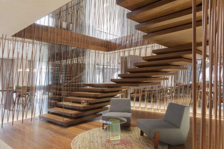 """有""""腔调""""的28个楼梯案例设计分享(文末33套室内施工图资料)_24"""