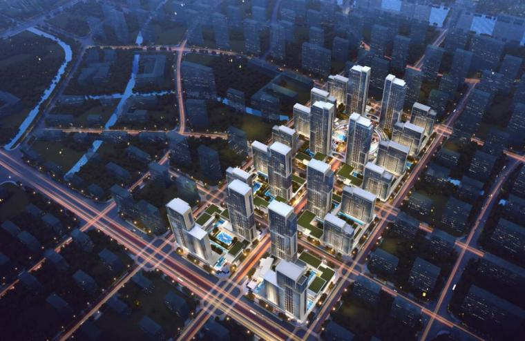 [山东]鲁能张马片区现代风格居住区规划方案设计(天华设计|PDF+112页)