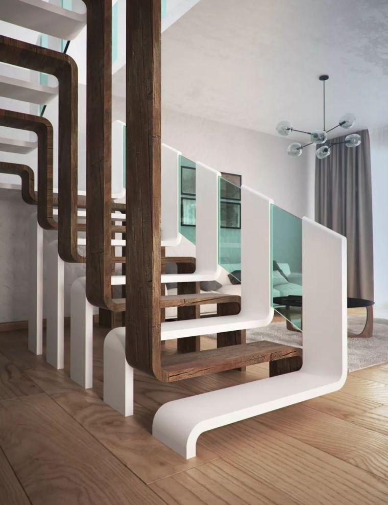 """有""""腔调""""的28个楼梯案例设计分享(文末33套室内施工图资料)_25"""