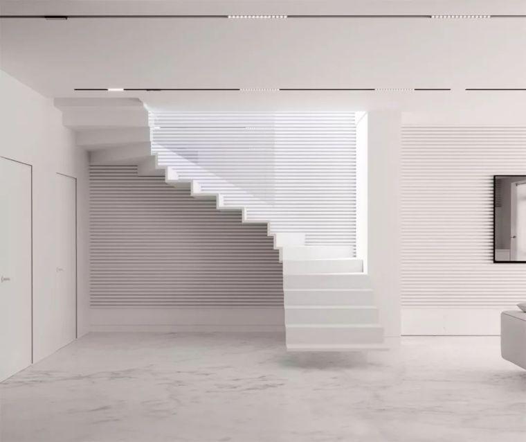 """有""""腔调""""的28个楼梯案例设计分享(文末33套室内施工图资料)_27"""