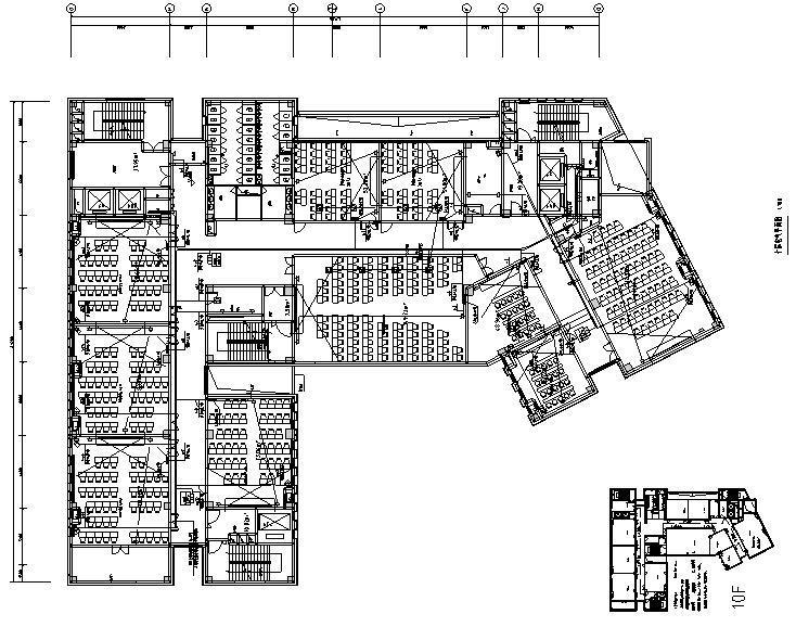 重庆高校教学楼新建工程电气施工图