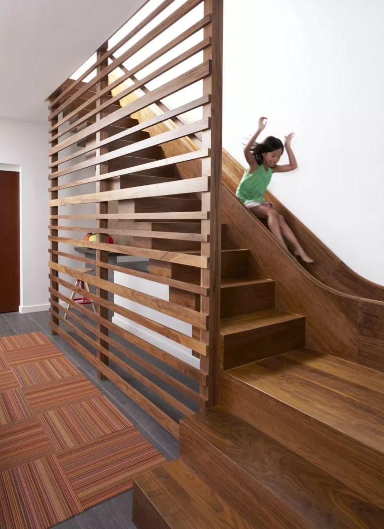 """有""""腔调""""的28个楼梯案例设计分享(文末33套室内施工图资料)_31"""
