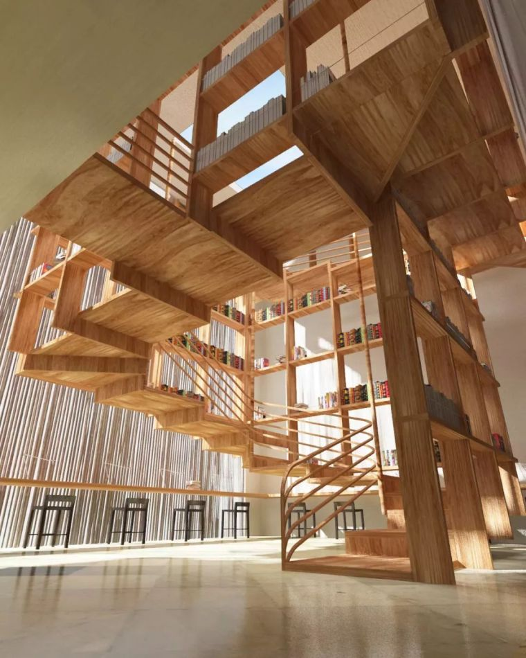 """有""""腔调""""的28个楼梯案例设计分享(文末33套室内施工图资料)_30"""