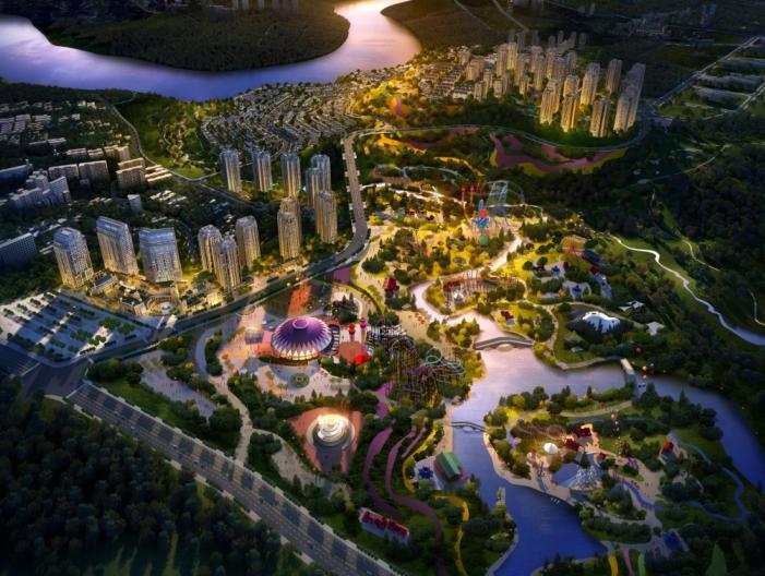 [重庆]华侨城总体概念规划及大一期建筑概念设计文本(天华丨PDF,171页)