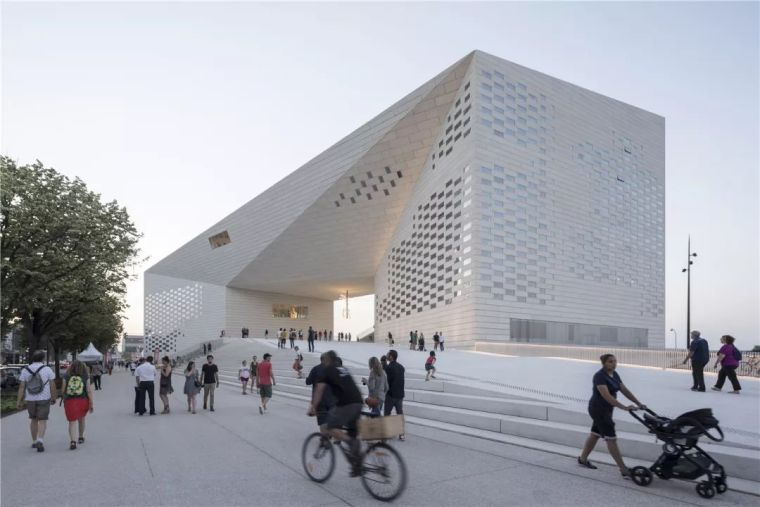 新作|BIG为法国波尔多打造城市客厅:MÉCA