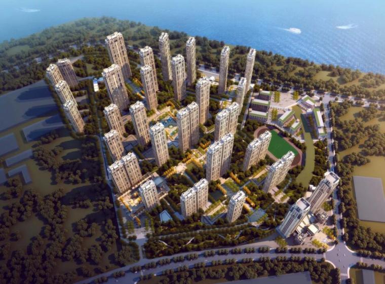[湖北]新古典风格居住区华润城建筑方案文本(水石设计|PDF+214页)