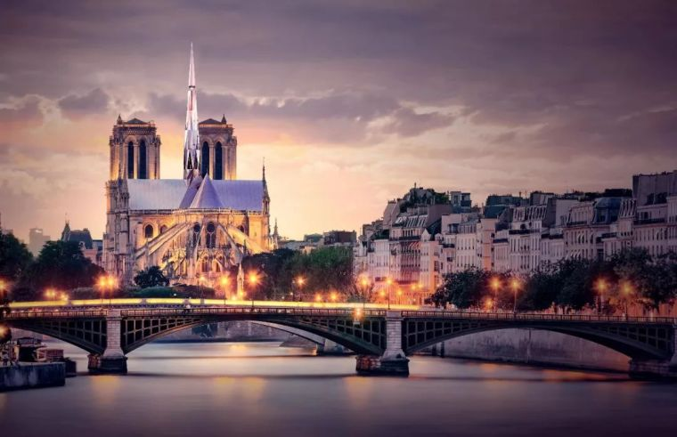 中国建筑师高票赢得巴黎圣母院重建竞赛,战胜来自56个国家的200多