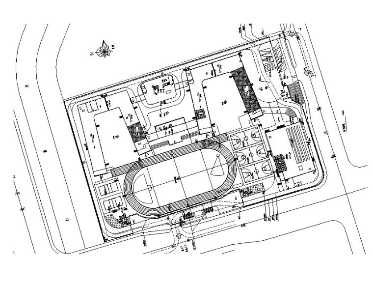 浙江4万平小学智能化设计图纸