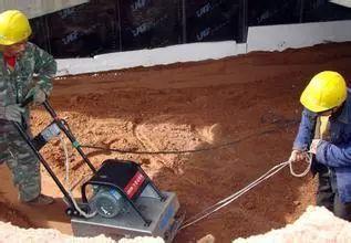 人工回填土施工技术交底