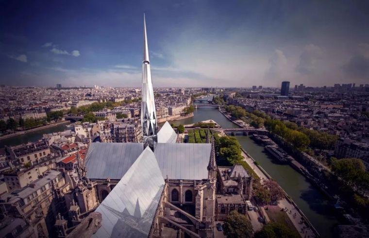 """中国建筑师""""巴黎心跳""""方案在圣母院建筑竞赛中夺冠!"""
