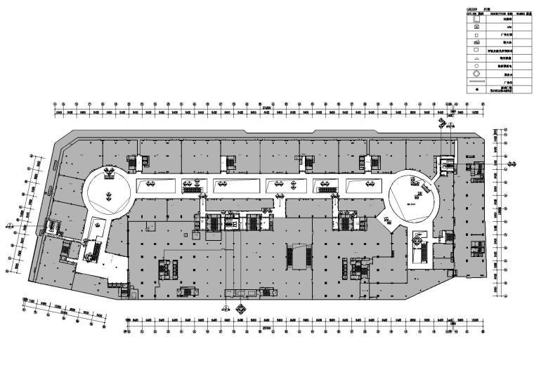 [江苏]惠山万达广场CAD施工图+效果图+材料