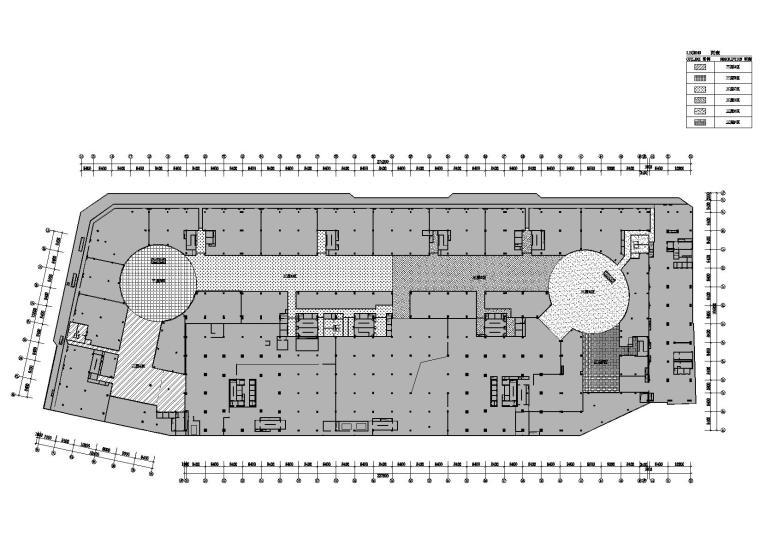 三层平面区域图