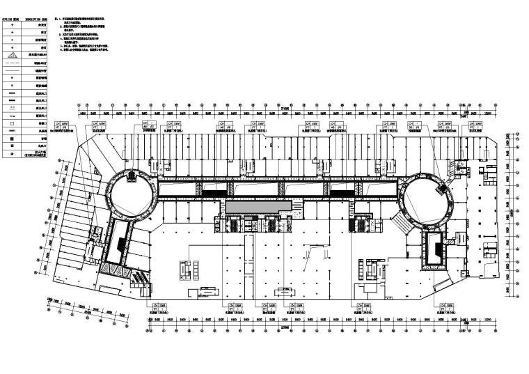 二层综合天花平面图