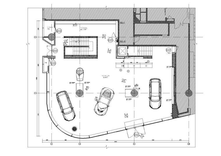 斯柯达汽车展厅品牌形象设计概念 图文图片