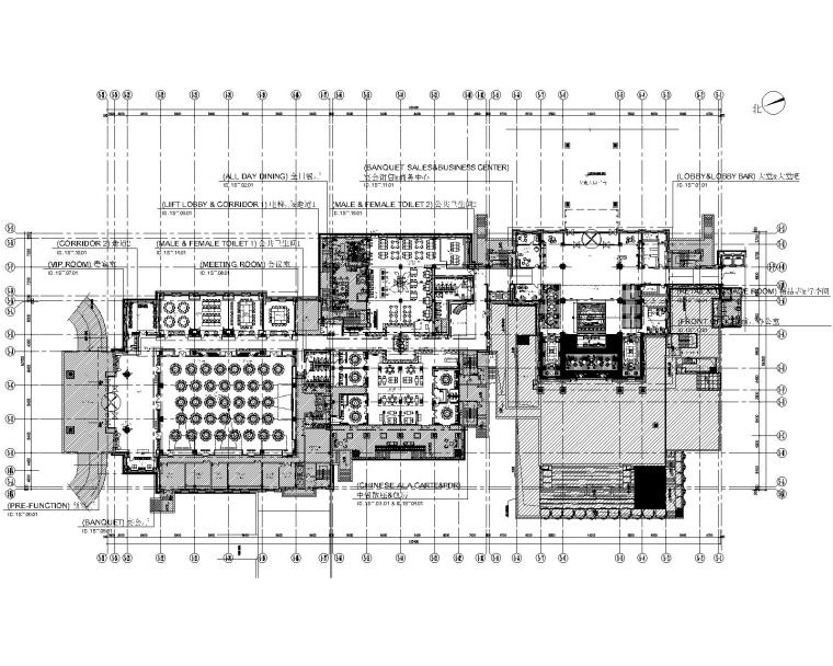 [浙江]DPD-湖州度假花园酒店CAD全套施工图+PPT设计方案+效果图+标识方案